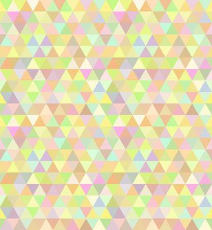 Triangle seamless pattern in vector Vector