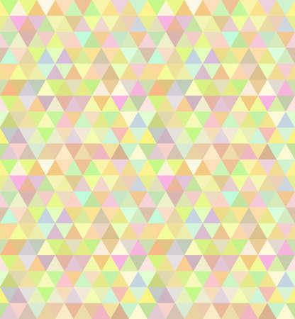 discrete: Triangle seamless pattern in vector