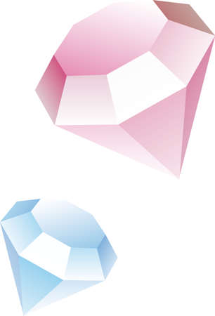 Abstract diamond icon or symbol illustration Vector