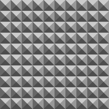 Triangle grey seamless pattern in vector eps 10 Vector