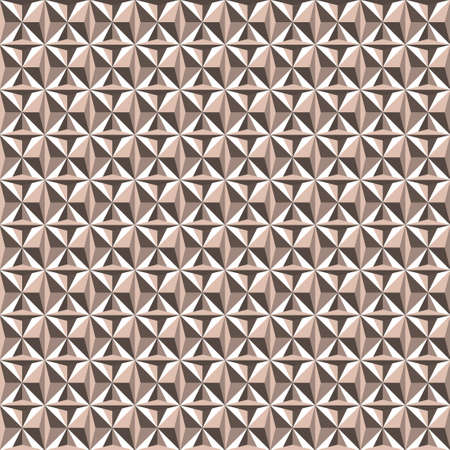 tessellation structure: Triangle seamless pattern light brown beige colors