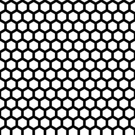 ハニカムのシームレスなパターン  イラスト・ベクター素材