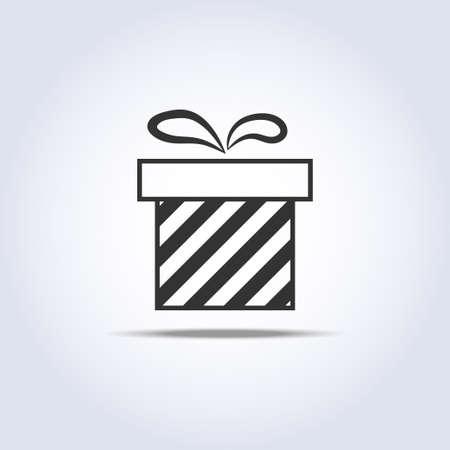present box: icon of present box