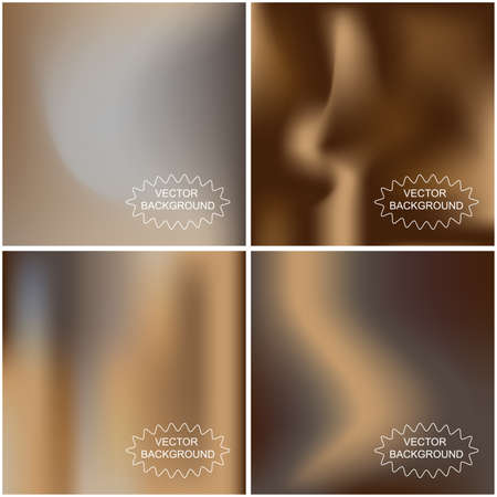 Set of abstract vector backgrounds  Vector