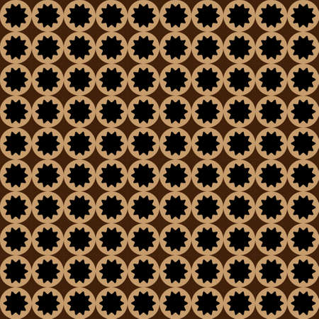 discrete: Squares seamless pattern brown colors