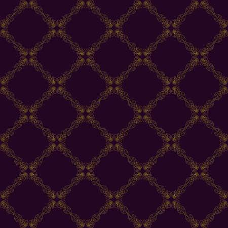 discrete: Seamless abstract vintage purple pattern. Vector illustration