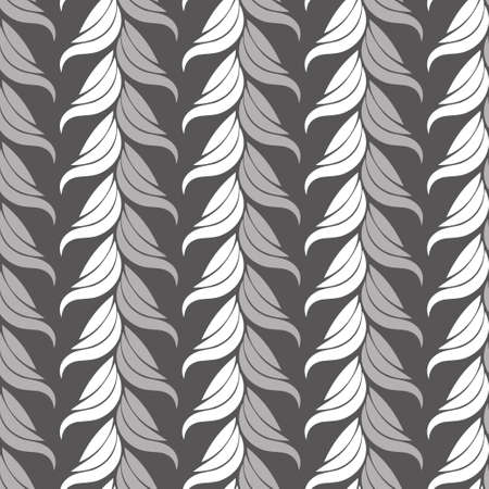 Seamless abstract vintage art gray pattern. Vector illustration Stock Vector - 88198088