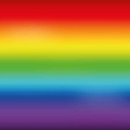 Bright rainbow mesh horizontal background. Vector illustration Stock Illustration - 88218069