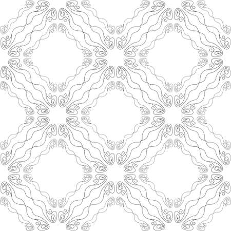 Seamless abstract vintage light gray pattern Stock Vector - 88566693