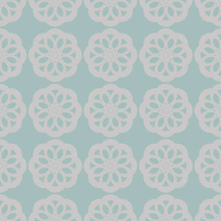 Seamless abstract vintage light gray pattern Stock Photo