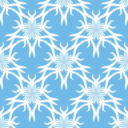 Seamless abstract vintage light blue pattern. Vector illustration Stock Vector - 92934416