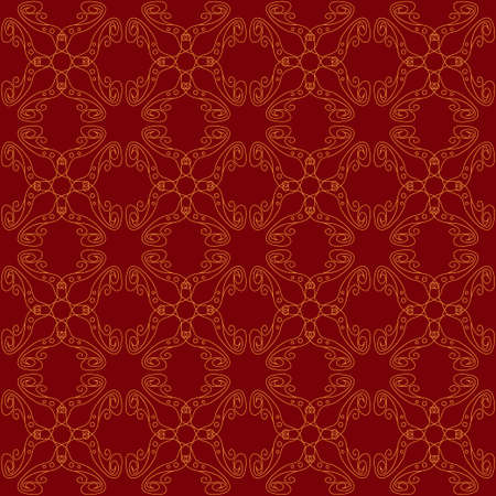 Seamless abstract vintage dark red pattern