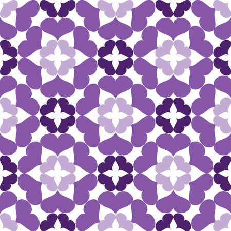 A Seamless abstract art lilac pattern