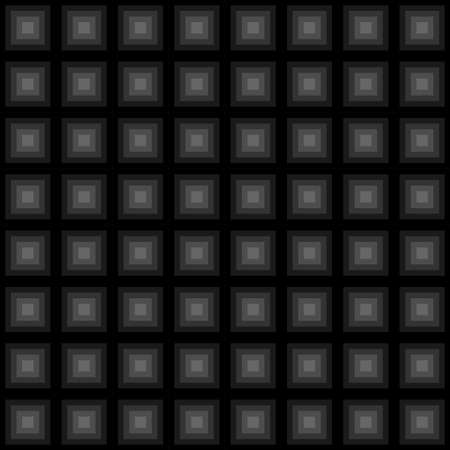 Squares floor seamless pattern black colors