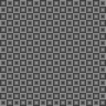 Squares floor seamless pattern gray colors Illustration