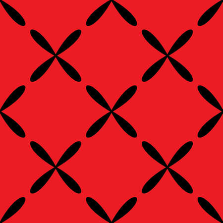Seamless abstract vintage red pattern Illustration
