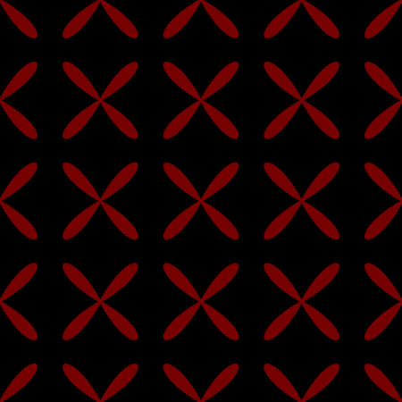 Seamless abstract grid black pattern Vector illustration