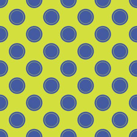 Seamless abstract circle dots pattern