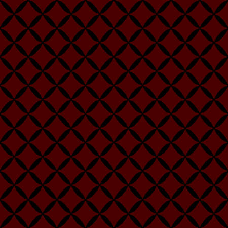 Seamless abstract grid black pattern Illustration