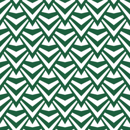 Art abstract geometric light white green pattern. Vector illustration Stock Illustratie
