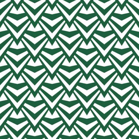 Art abstract geometric light white green pattern. Vector illustration Illustration