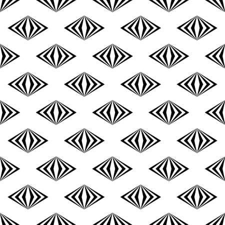 Art abstract geometric light white black pattern. Vector illustration