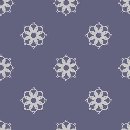 Seamless abstract vintage dark violet gray pattern. Vector illustration Vettoriali