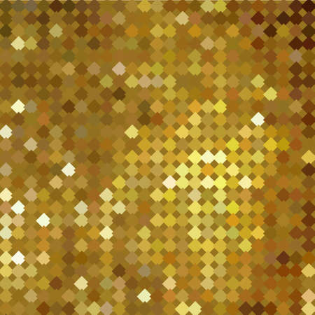 Gold bokeh pattern background. Luxury gold pattern. Vector illustration Illustration