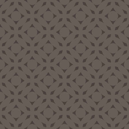 Seamless abstract art dark gray monochrome pattern