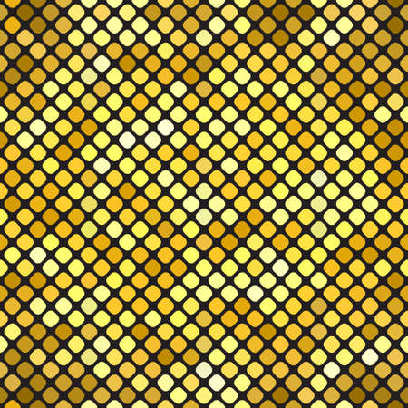 Gold bokeh pattern background. Luxury gold pattern. Vector illustration Stock Illustratie