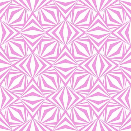 Art abstract geometric light white pink pattern