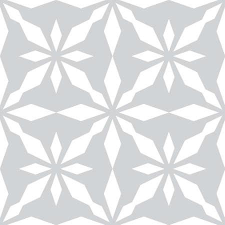 Art abstract geometric light white gray pattern. Vector illustration