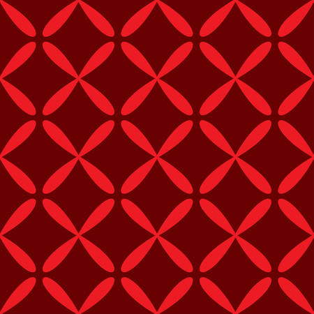 Seamless abstract grid dark red pattern. Vector illustration Stok Fotoğraf - 125868922