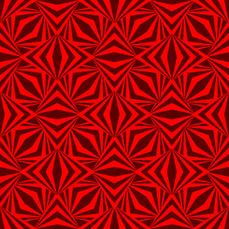 Art abstract geometric dark red romb pattern. Vector illustration Иллюстрация