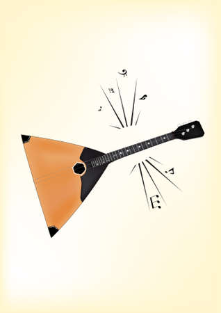 Balalaika  Vector  Native russian instrument