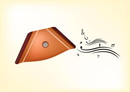 Gusli  Vector  Native russian instrument