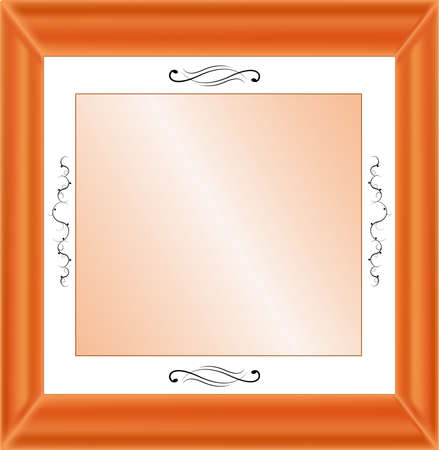 Vrctor image - frame. Abstract background