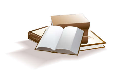 Vrctor clipart - books. Abstract background