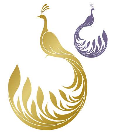 Peacock   イラスト・ベクター素材
