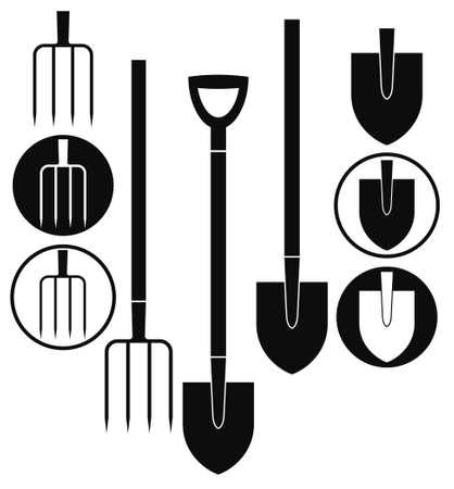 Shovel  Pitchfork