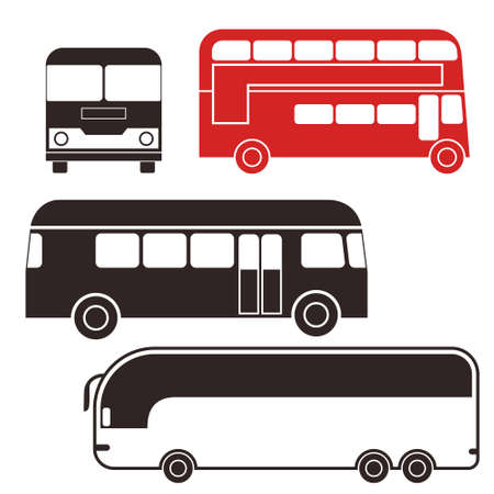 red bus: Bus