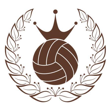 Volleyball Illustration