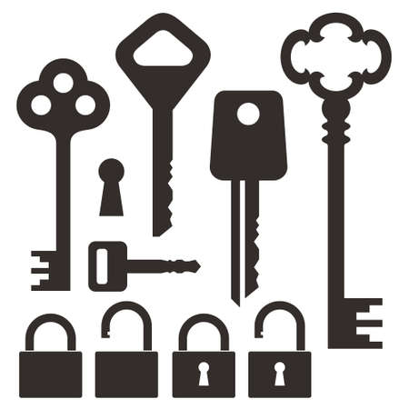 Key  Lock Vector