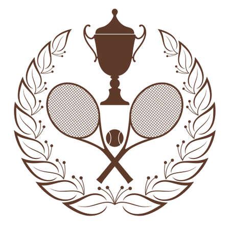 raqueta de tenis: Tenis Vectores
