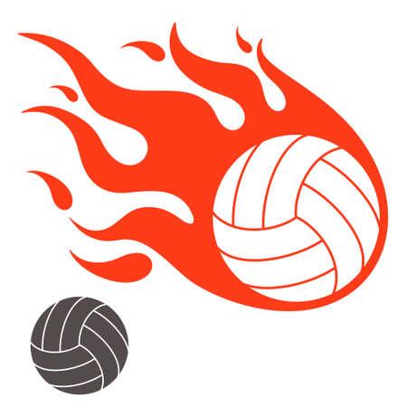 volleyball team: Volleyball Illustration