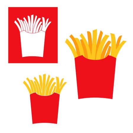 prepared potato: French Fries