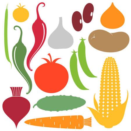 Vegetable  Set Illustration