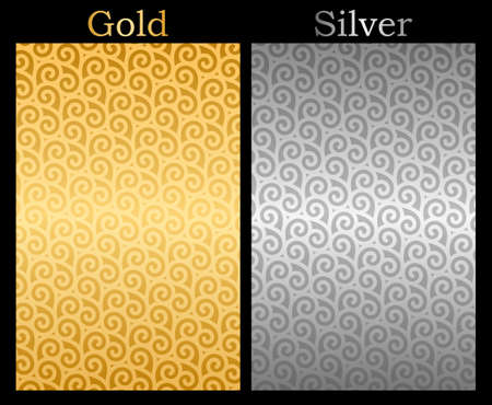 gold background: Gold and Silver background