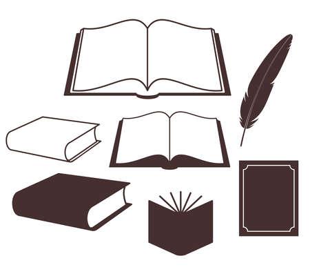 libro abierto: Book Set