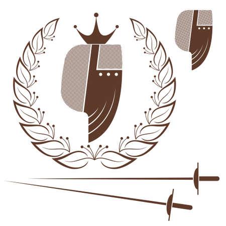 fencing: Fencing Illustration